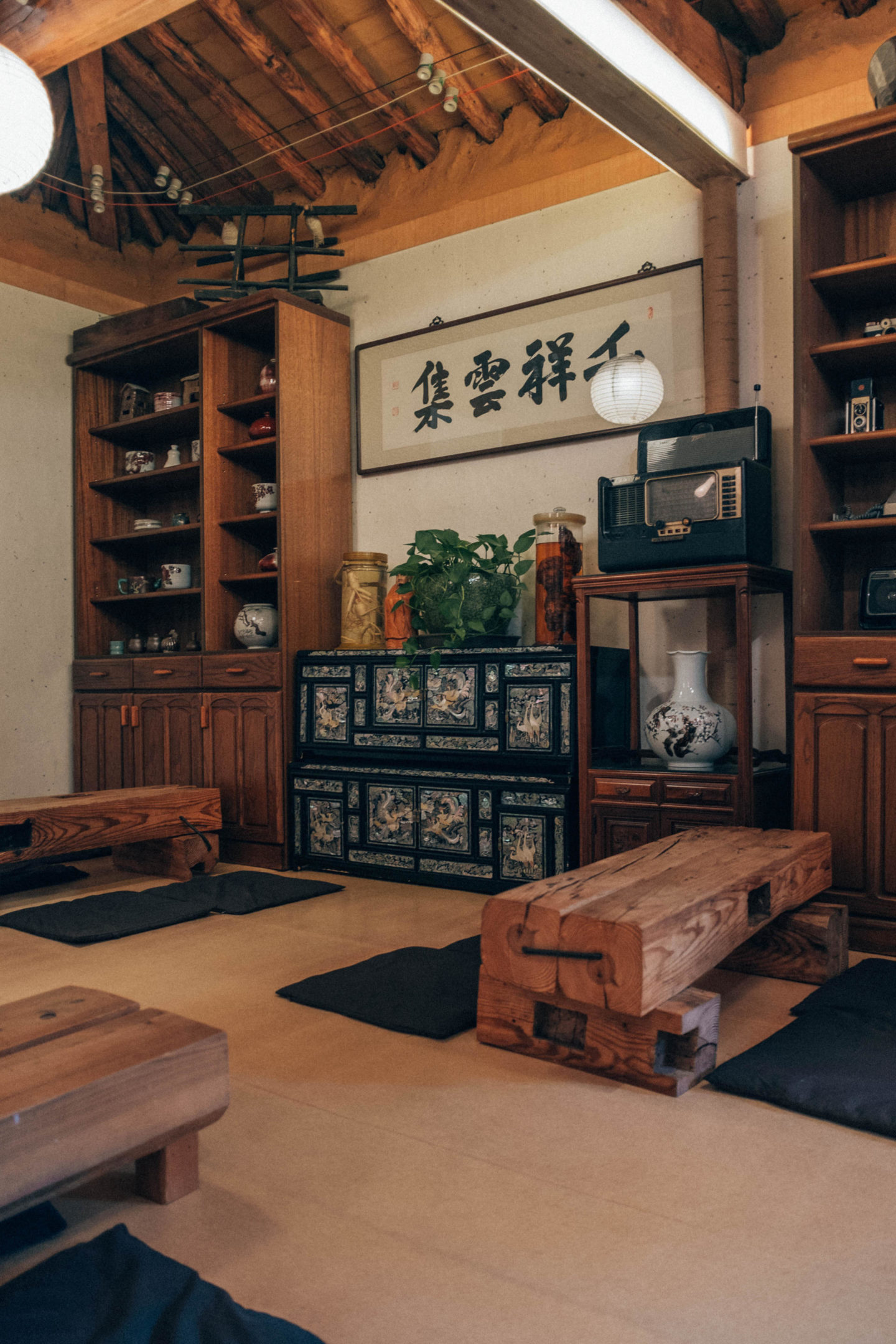 traditional Korean tea house